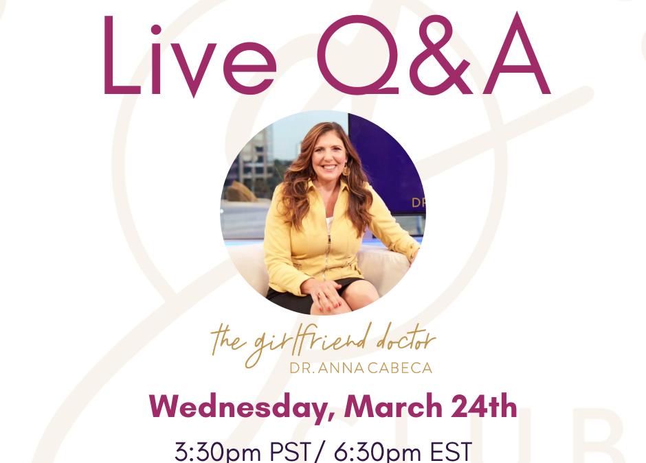 TGFD Live Q&A #6