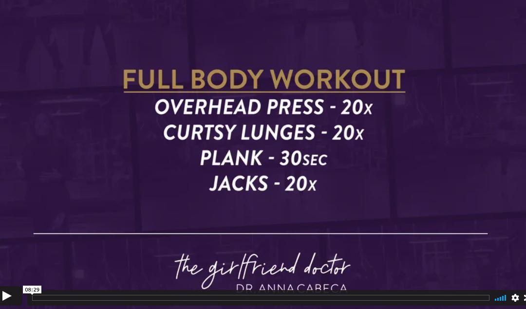 Mindy Lee 12 Week Fitness Challenge Week 11 – Full Body Workout
