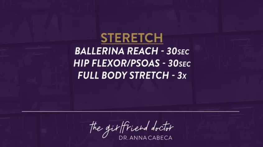 Mindy Lee 12 Week Fitness Challenge Week 9 – Stretch