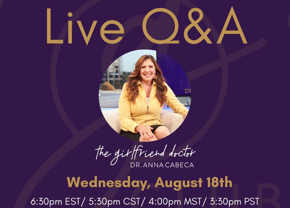 TGFD Club Live Q&A #16